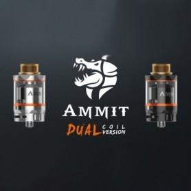 Geekvape Ammit Dual Coil Rta Atomizzatore 25mm Black