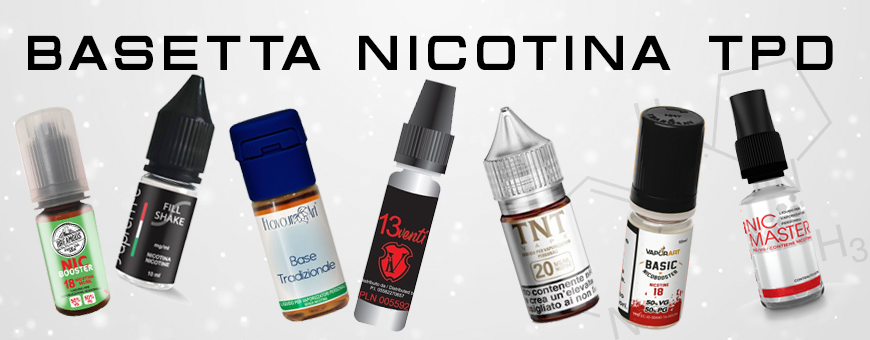 Basette 10ml TPD Nicotina liquido svapo Smo-kingshop.it
