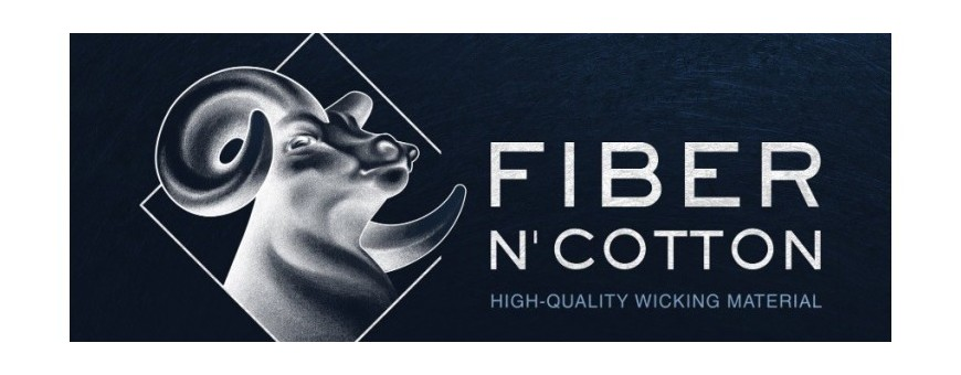 Fiber N' Cotton Electronic Cigarette Cotton