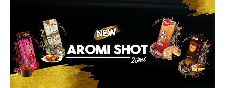 King Liquid 20 ml aromi shot series in vendita su smo-kingshop.it