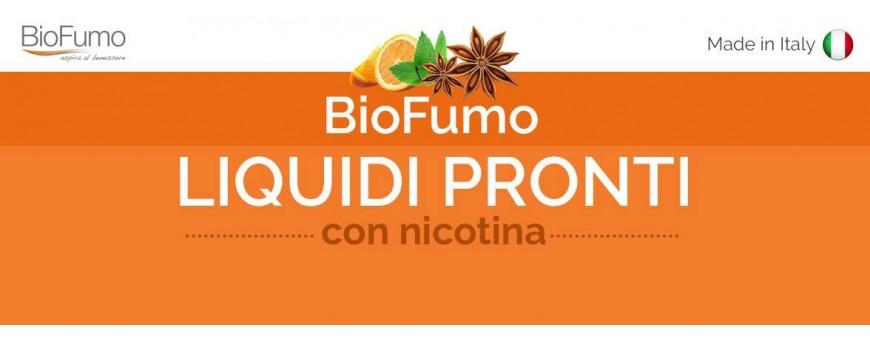 biofumo liquidi pronti 10 ml tpd italia per la sigaretta elettronica