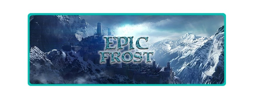 EPIC FROST Eliquid for Electronic Cigarette from FUU shot aroma 20 ml