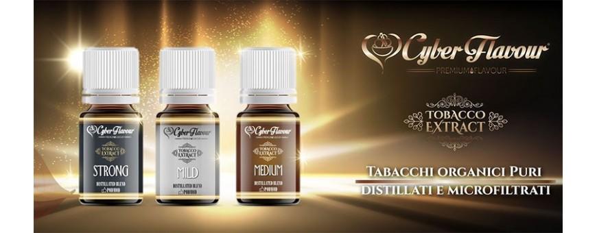 CYBER FLAVOUR TOBACCO EXTRACT Estratti di tabacco organici Smo-Kingshop.it