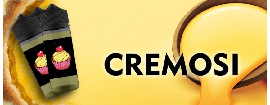 AROMAS AND CREAMY LIQUIDS for Electronic Cigarette at the best online price