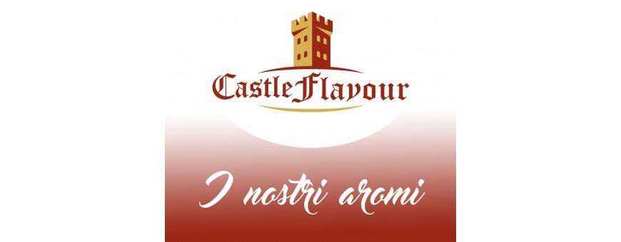 CASTLE FLAVOUR solo i migliori Liquidi Sigaretta Elettronica, Tabaccosi, Cremosi, Fruttati ed Ice in formato Aroma Concentrato