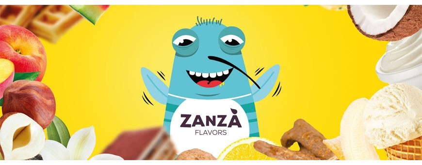 ZANZA FLAVOURS I 35 Concentrated Flavors 10 ml for ELECTRONIC CIGARETTE Smo-KingShop.it