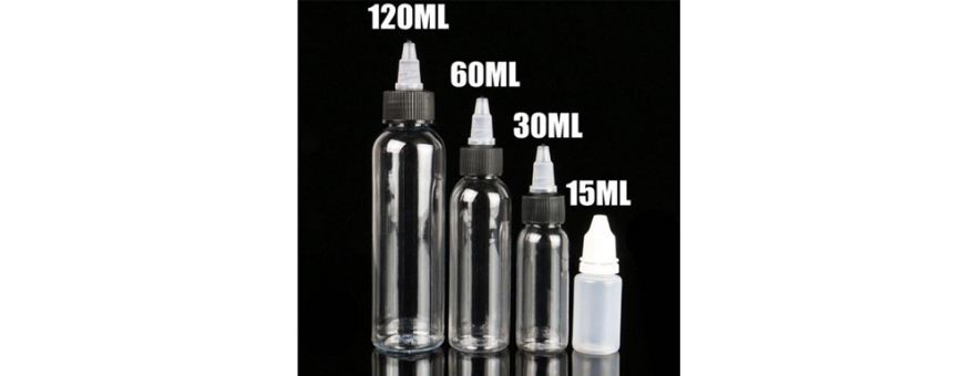 Bottle for Electronic Cigarette Fluids of all kinds to mix