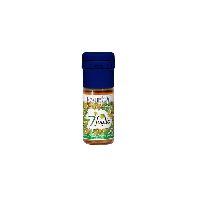 Flavourart 7 Foglie 10 ml Liquido Pronto Nicotina