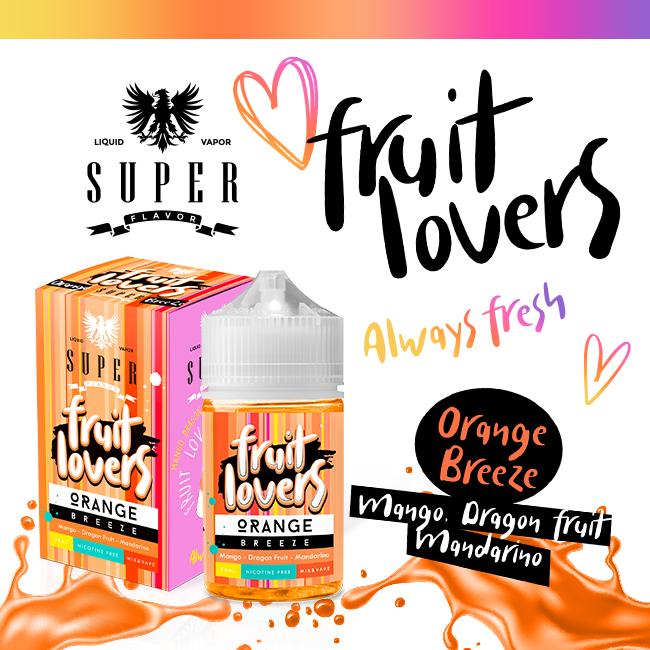 Super Flavor Orange Breeze