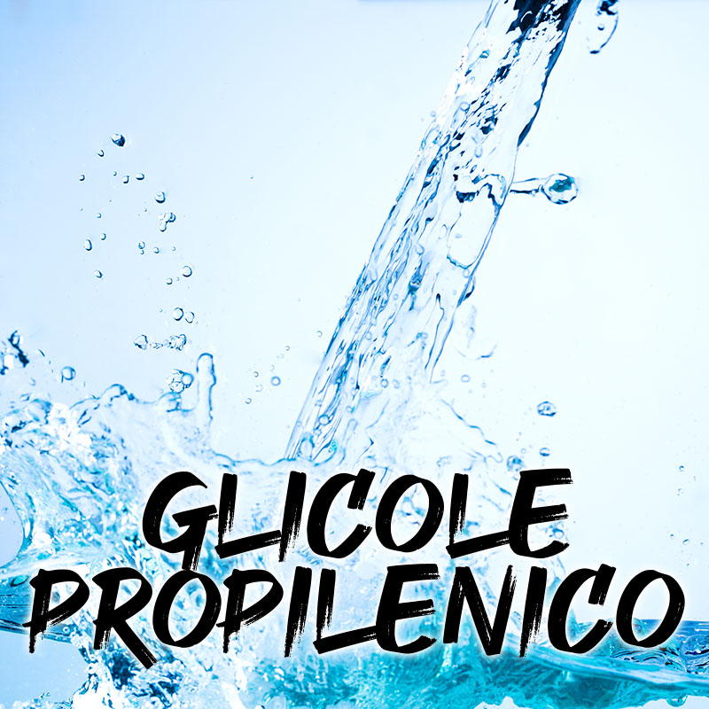 Glicole Propilenico e Glicerina Vegetale