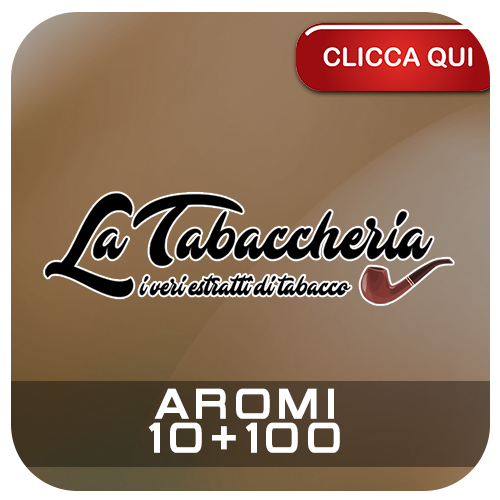 Aromi La Tabaccheria 10ml per sigarette elettroniche