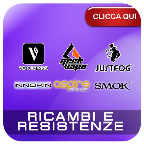 Ricambi e Resistenze per Sigarette Elettroniche