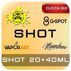 Shot 20ml per sigarette elettroniche