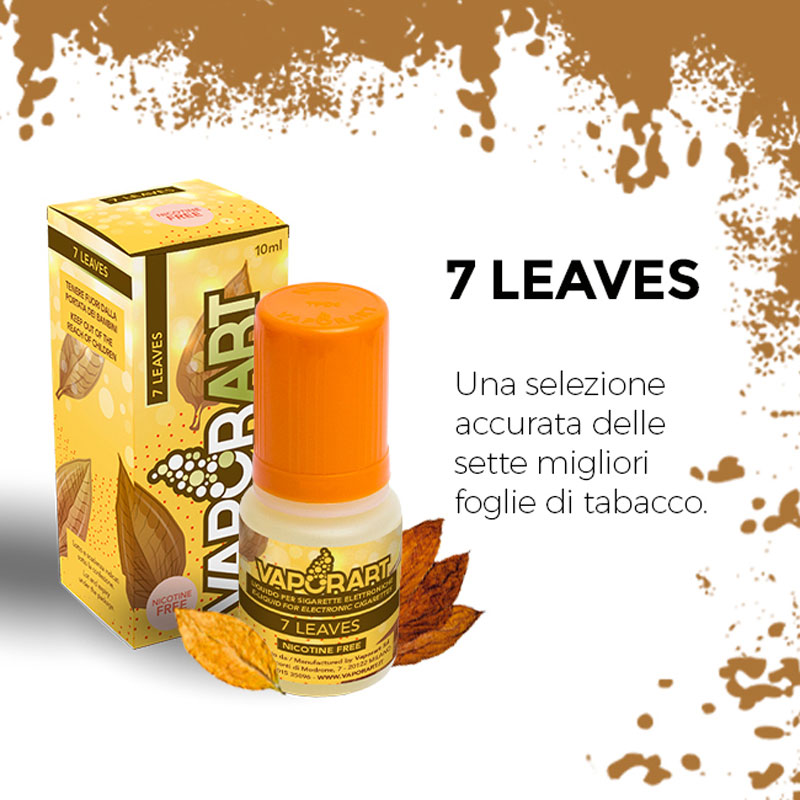 7 LEAVES 10 ml Liquido Pronto Nicotina VAPORART
