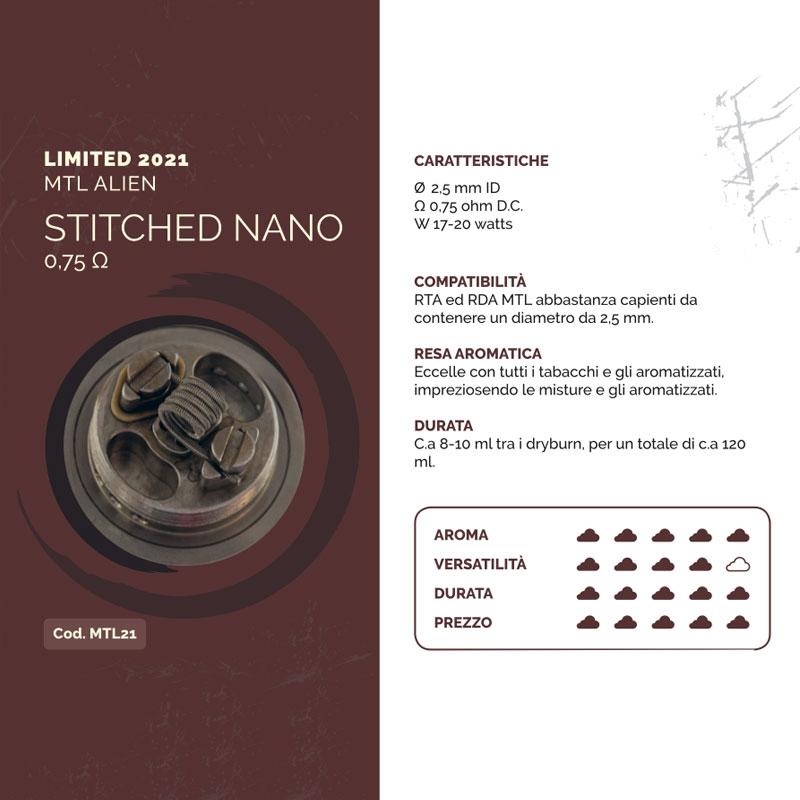 Breakill's 2021 Stitched Nano Alien MTL