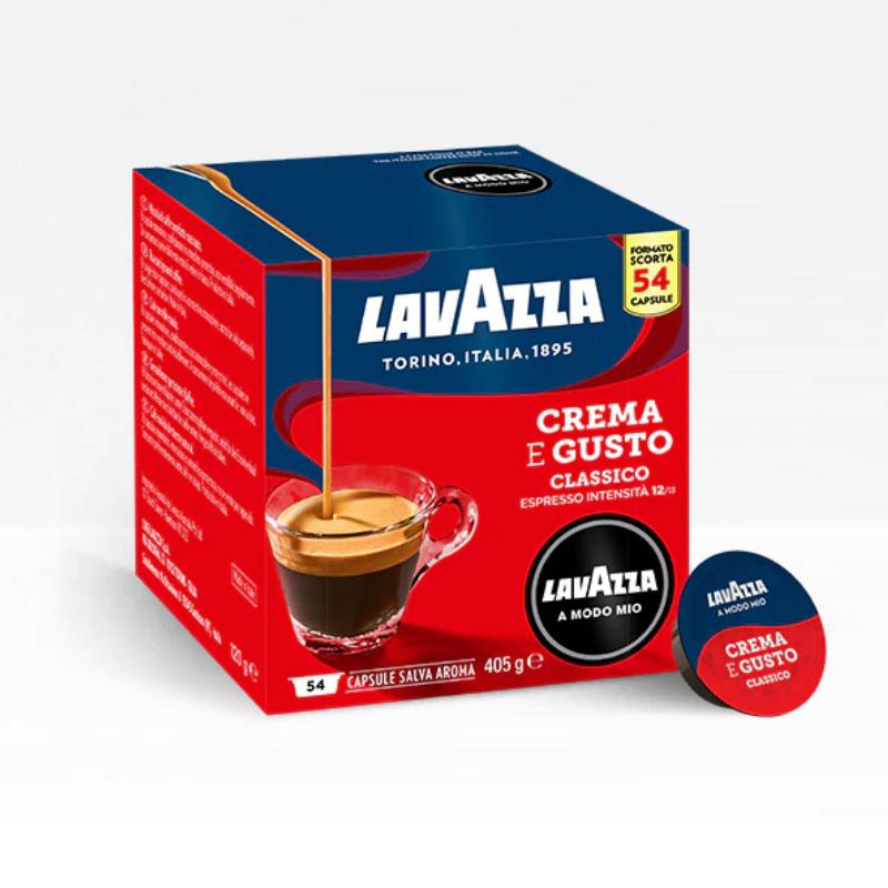 CREMA e GUSTO 54pz Capsule Caffè LAVAZZA A MODO MIO