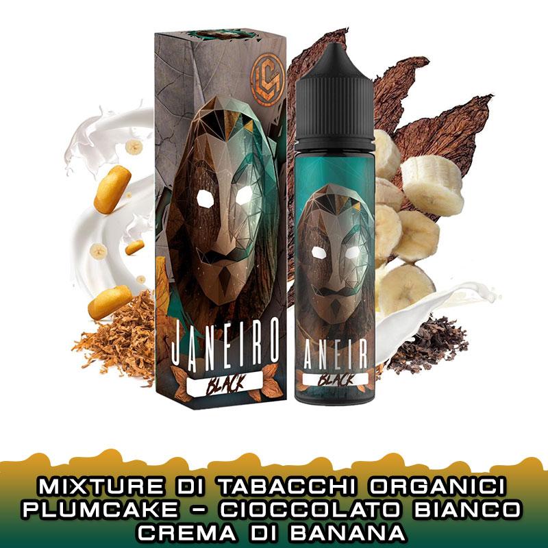 JANEIRO BLACK Papel Edition Aroma 20 ml LS PROJECT