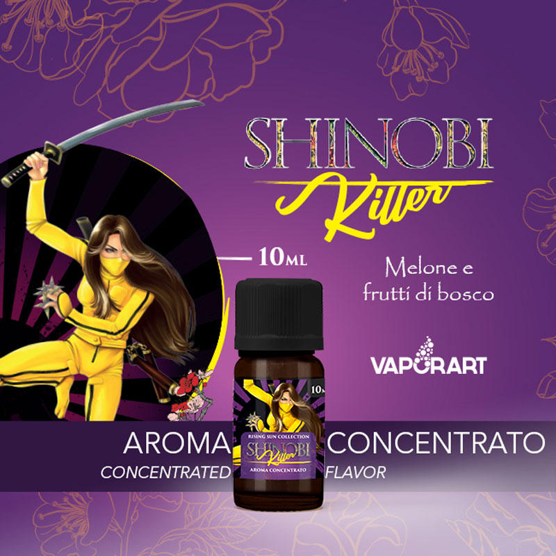 SHINOBI KILLER Aroma 10 ml VAPORART Sigaretta Elettronica