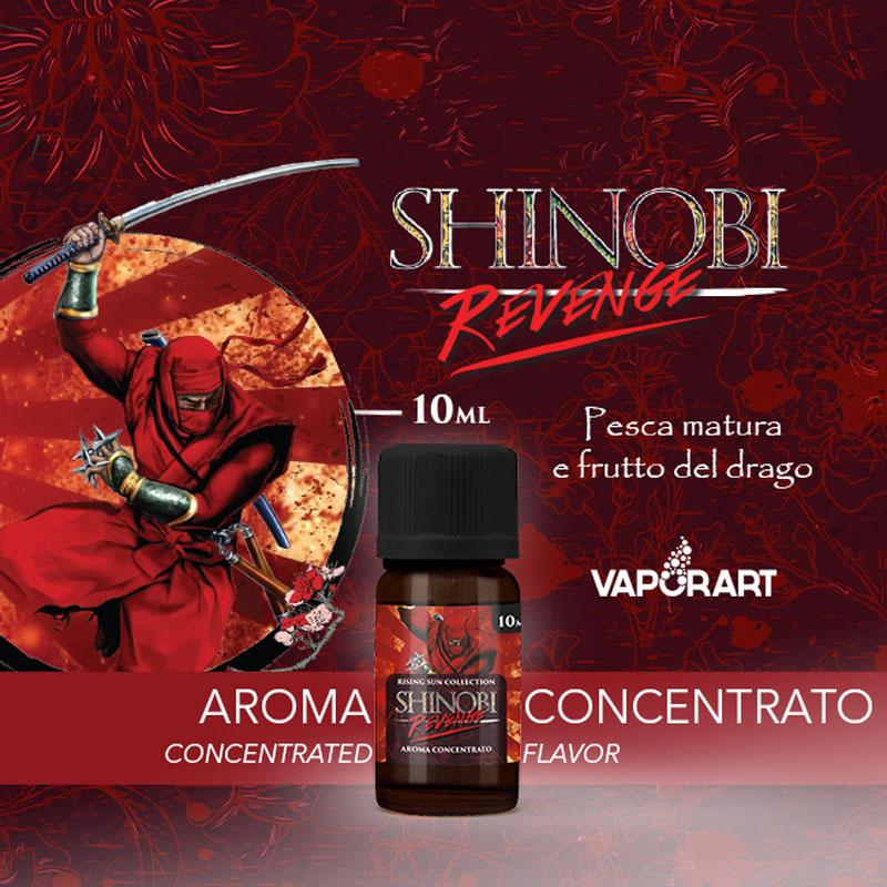 SHINOBI REVENGE Aroma 10 ml VAPORART Sigaretta Elettronica