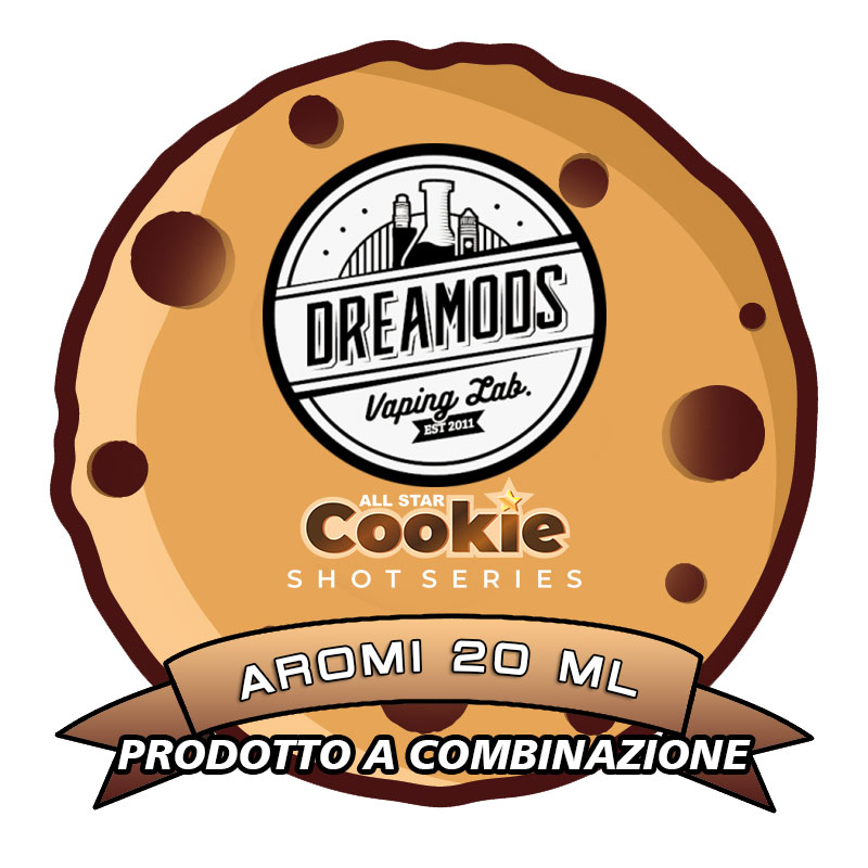 ALL STAR COOKIE Aromi 20 ml DREAMODS