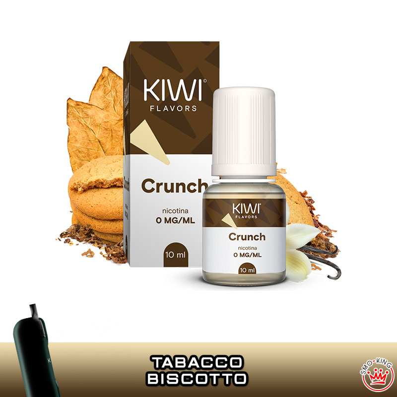 LIQUIDI KIWI VAPOR 10 ml TPD Flavors CRUNCH