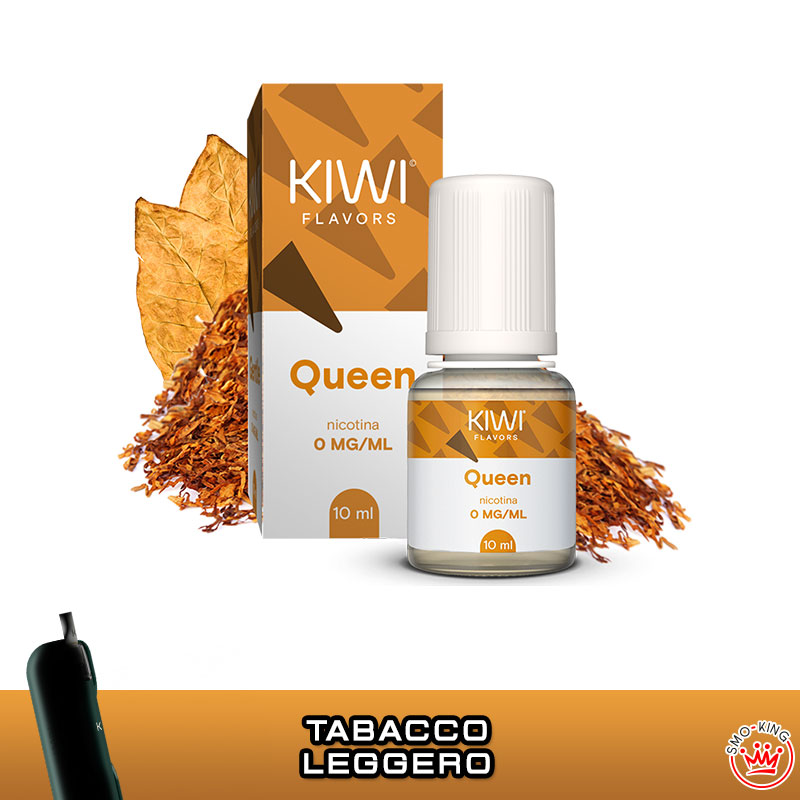 LIQUIDI KIWI VAPOR 10 ml TPD Flavors QUEEN