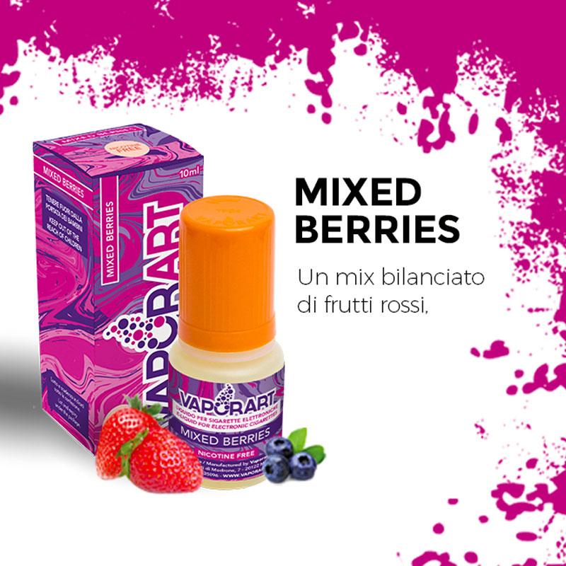 MIXED BERRIES 10 ml Liquido Pronto Nicotina VAPORART