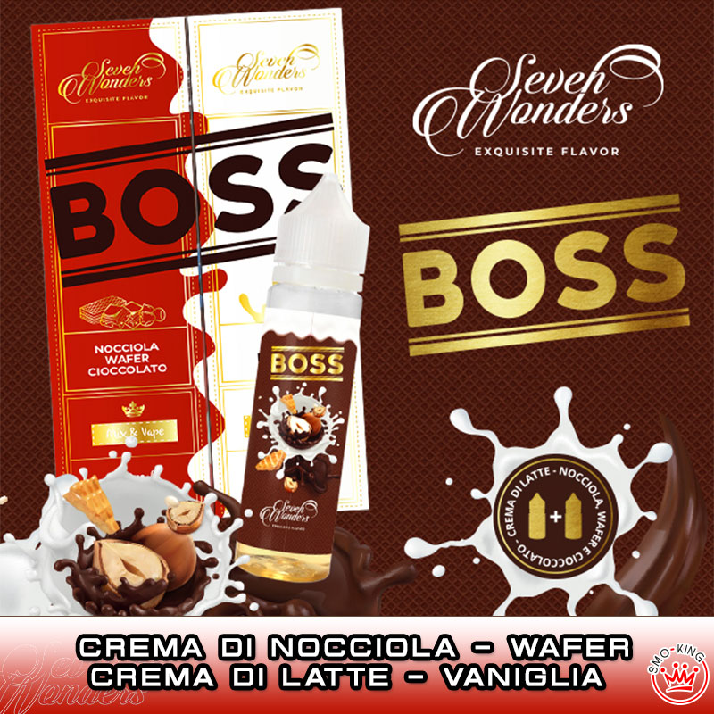 BOSS 40 ml Mix SEVEN WONDERS