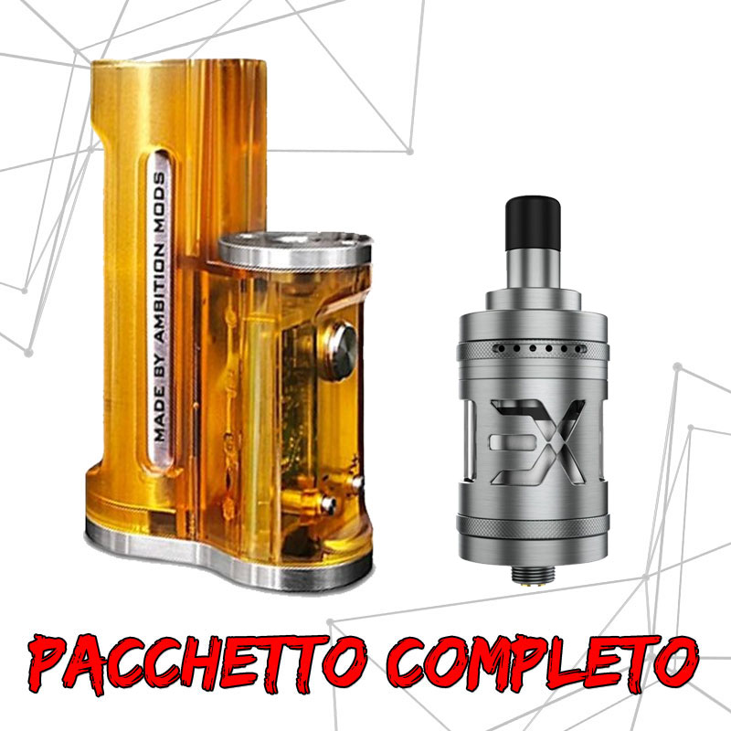 Pacchetto Easy Side Ultem + Expromizer V5