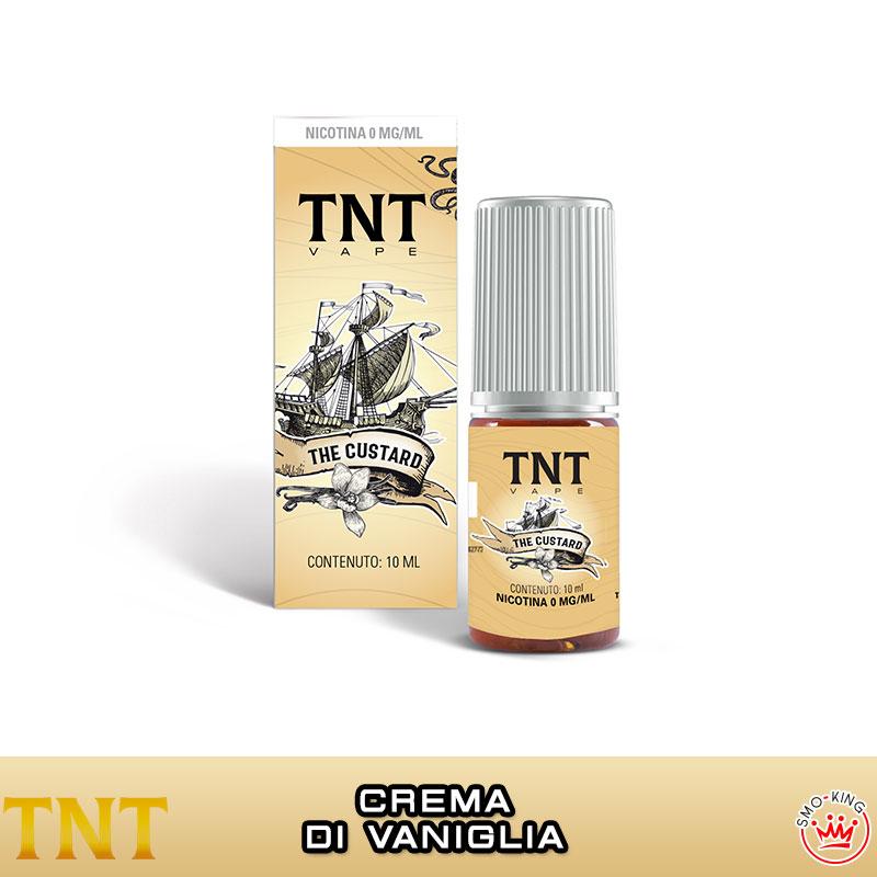THE CUSTARD 10 ml Liquido Pronto Nicotina TNT VAPE