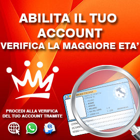 VERIFICA IL TUO ACCOUNT