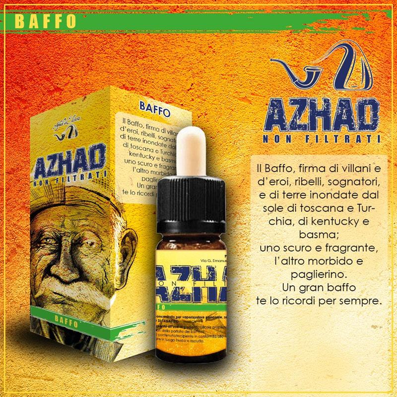 Azhad Non Filtrati Baffo Aroma 10 ml