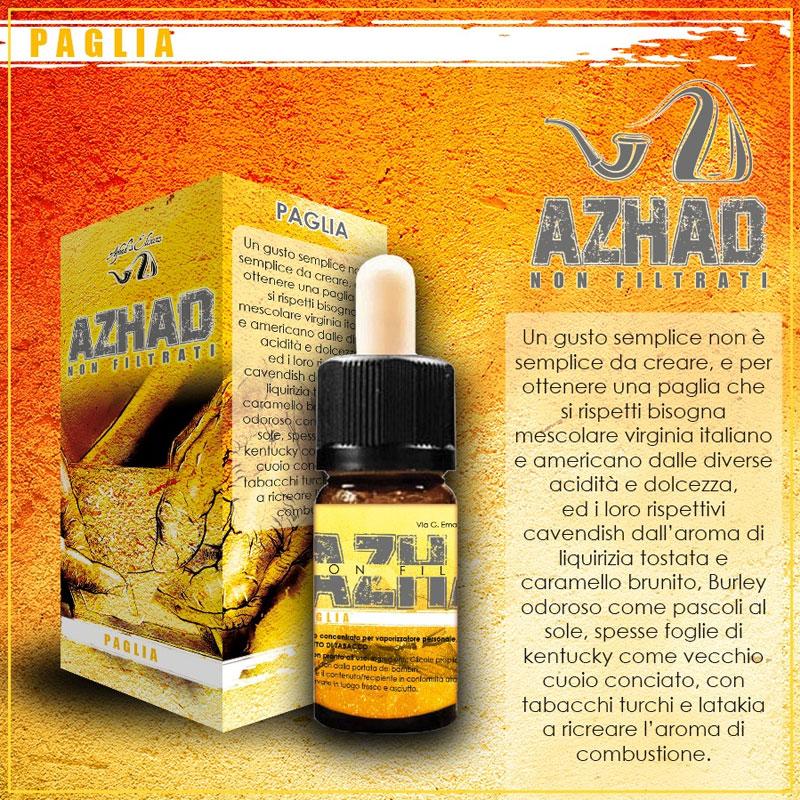 Azhad Non Filtrati Paglia Aroma 10 ml