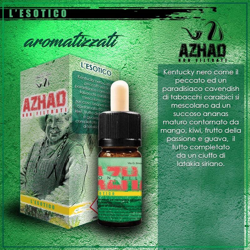 Azhad Non Filtrati L Esotico Aroma 10 ml