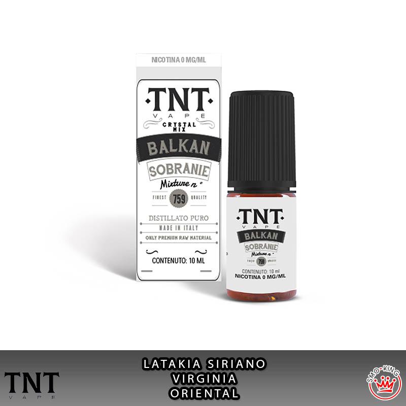 Balkan Sobranie Crystal Mix 10 ml Liquido Nicotina Tnt Vape