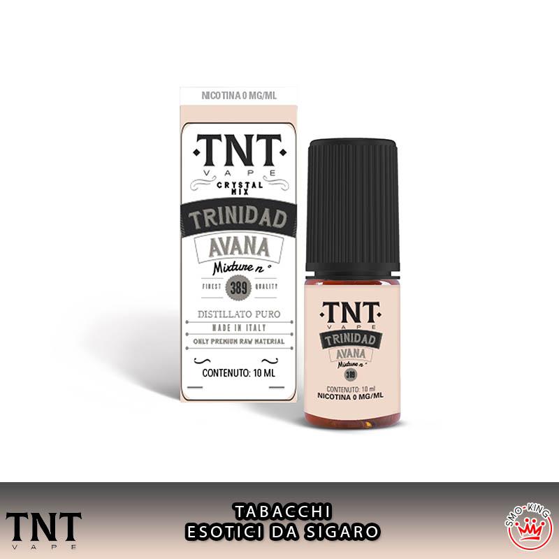 Trinidad Avana Crystal Mix 10 ml Liquido Nicotina Tnt Vape