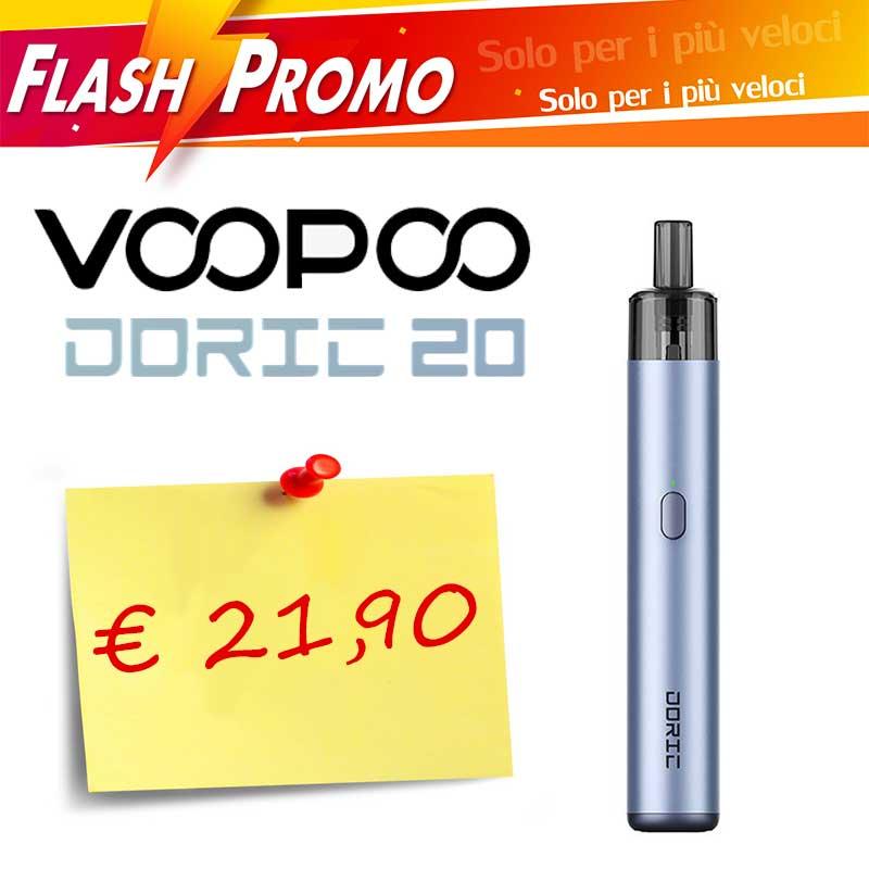 PROMO FLASH Doric 20 Kit Completo Voopoo