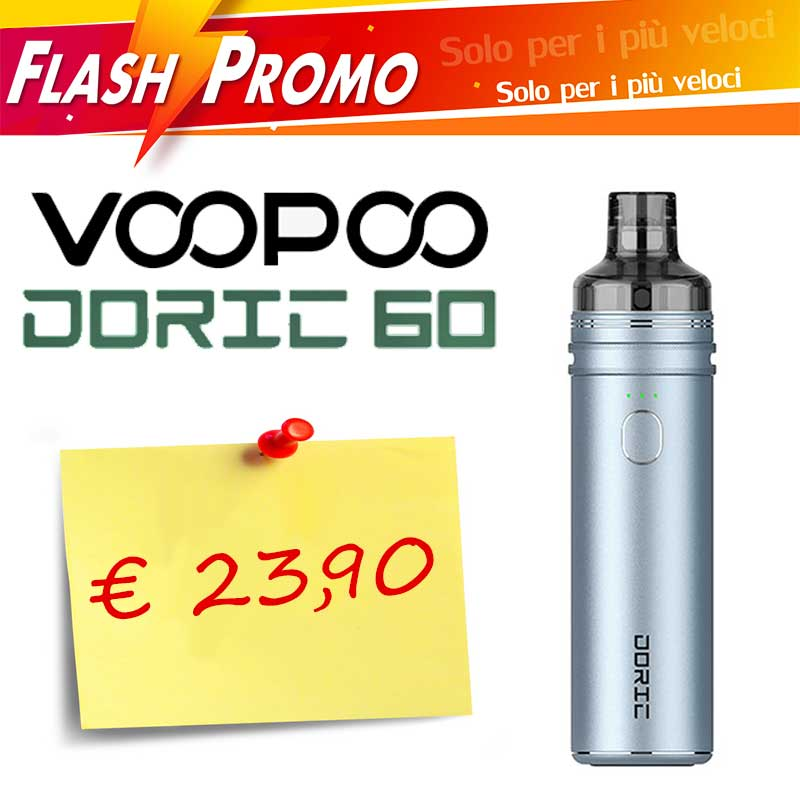 PROMO FLASH Doric 60 Kit Completo Voopoo