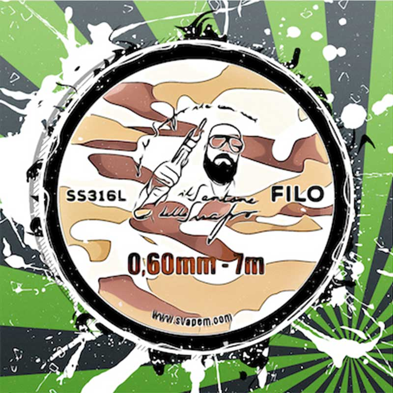 FILO 0.60 SS316 7m IL SANTONE DELLO SVAPO