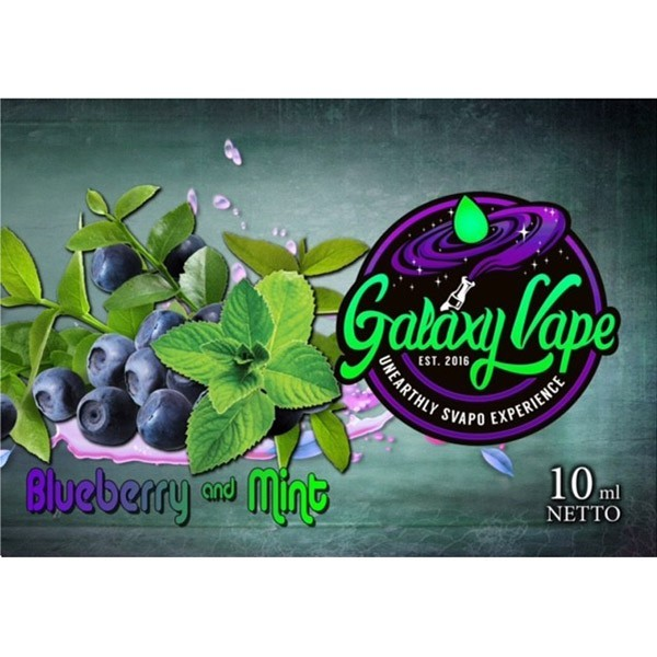 Galaxy Vape Blueberry Mint Aroma 10 ml