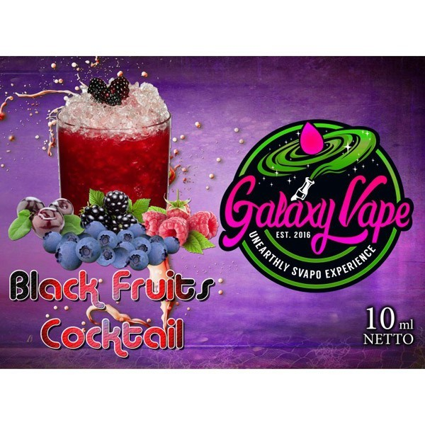 Galaxy Vape Black Fruits Cocktail Aroma 10 ml