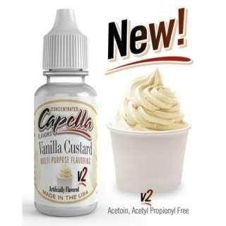 Capella Vanilla Custard V2 Aroma 13ml