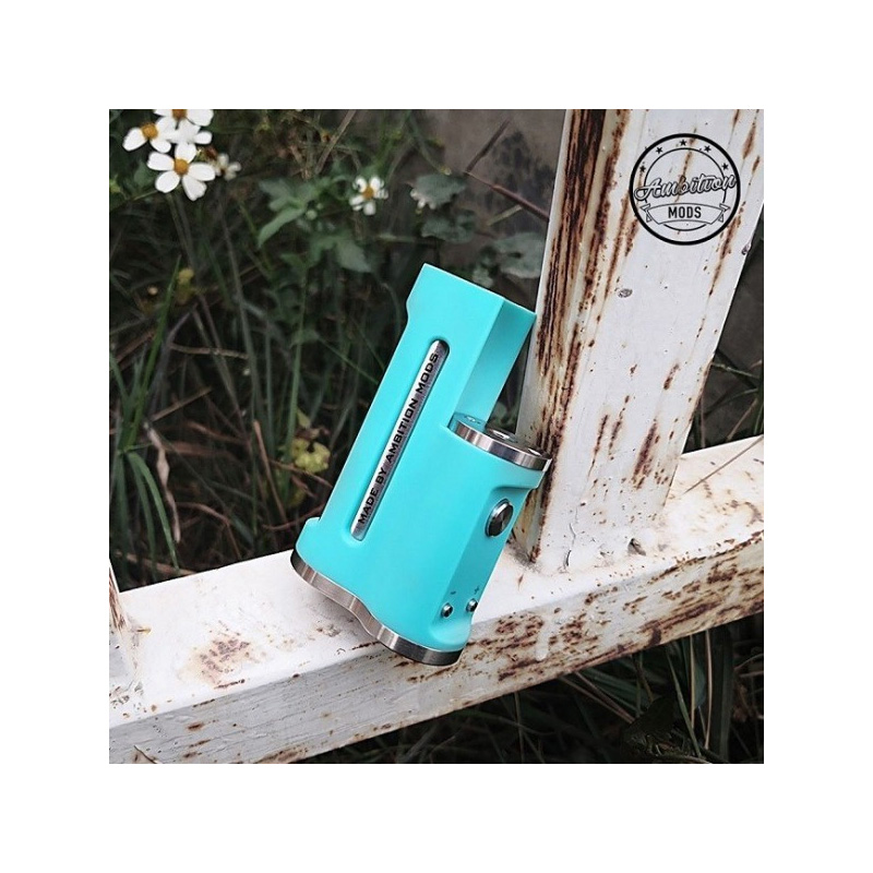 Ambition Mods Easy Side Box Mod 60W Tiffany Blue