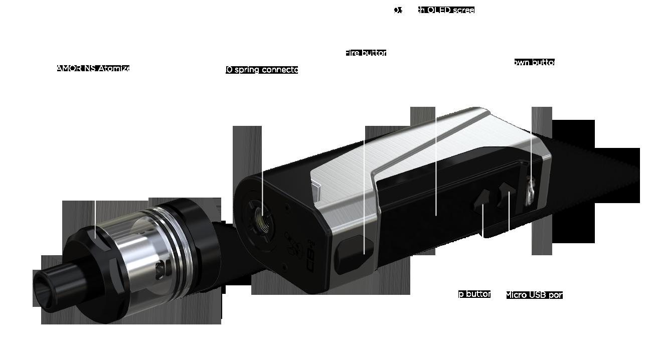 Wismec-CB60-kit completo-foto