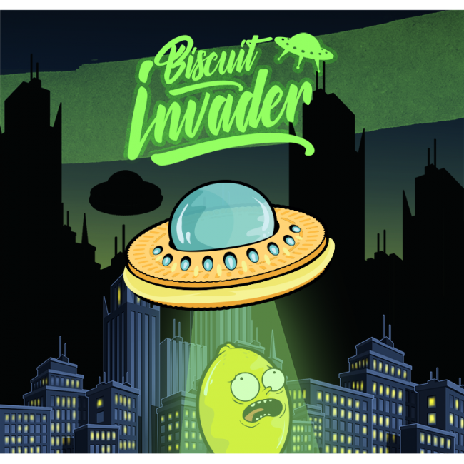 Shake and Vape Biscuit Invader Aroma 20 ml