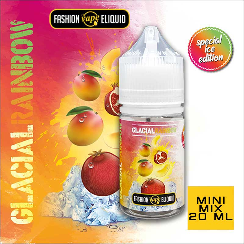 Fashion Vape Eliquid Glacial Rainbow MINI MIX 20ml
