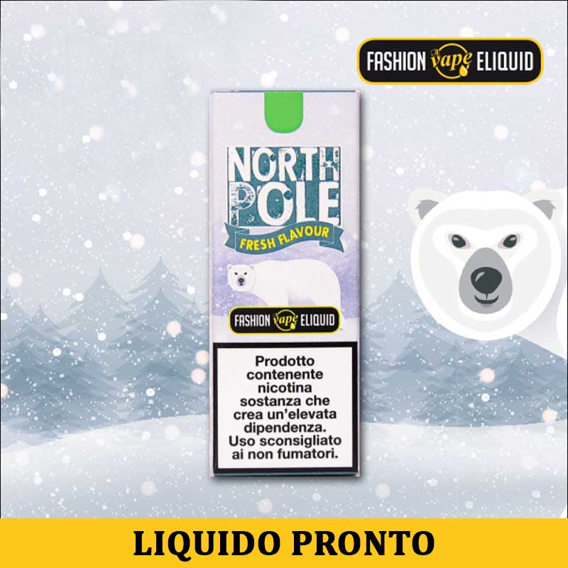 Fashion Vape Eliquid North Pole Liquido Pronto Nicotina