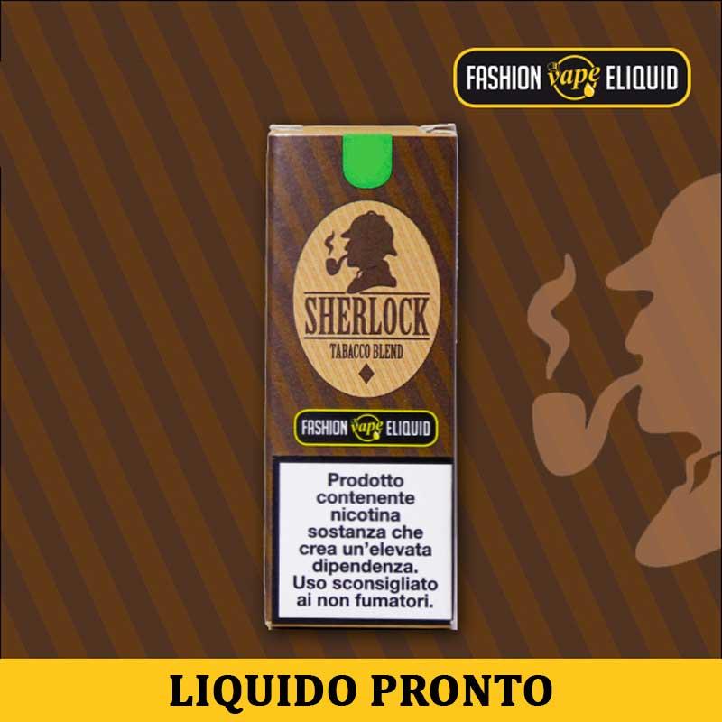 Fashion Vape Eliquid Sherlock Liquido Pronto Nicotina