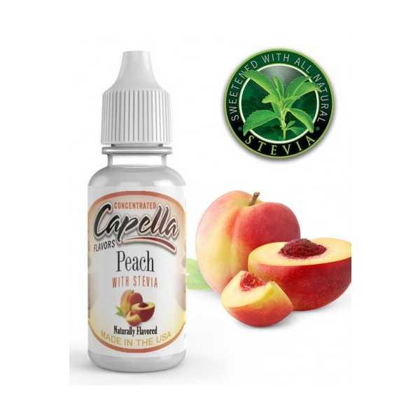 Capella Peach With Stevia Capellla