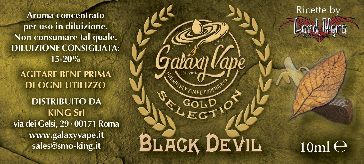 Black Devil Galaxy Vape 10ML